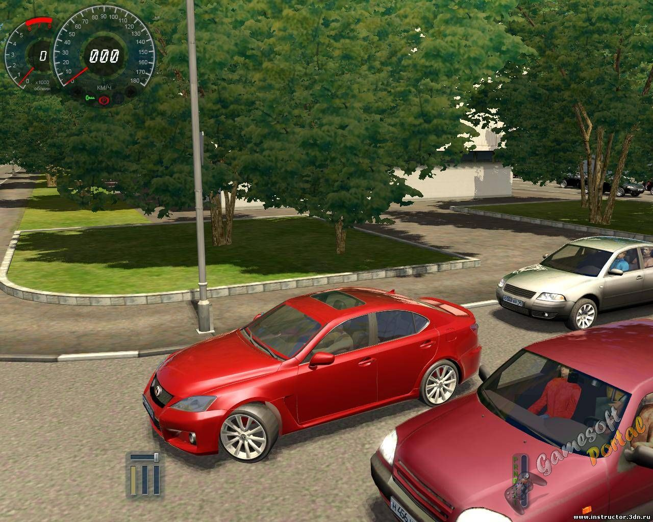 Lexus IS F для 3D Инструктор 2.2.8 - 2.2.10