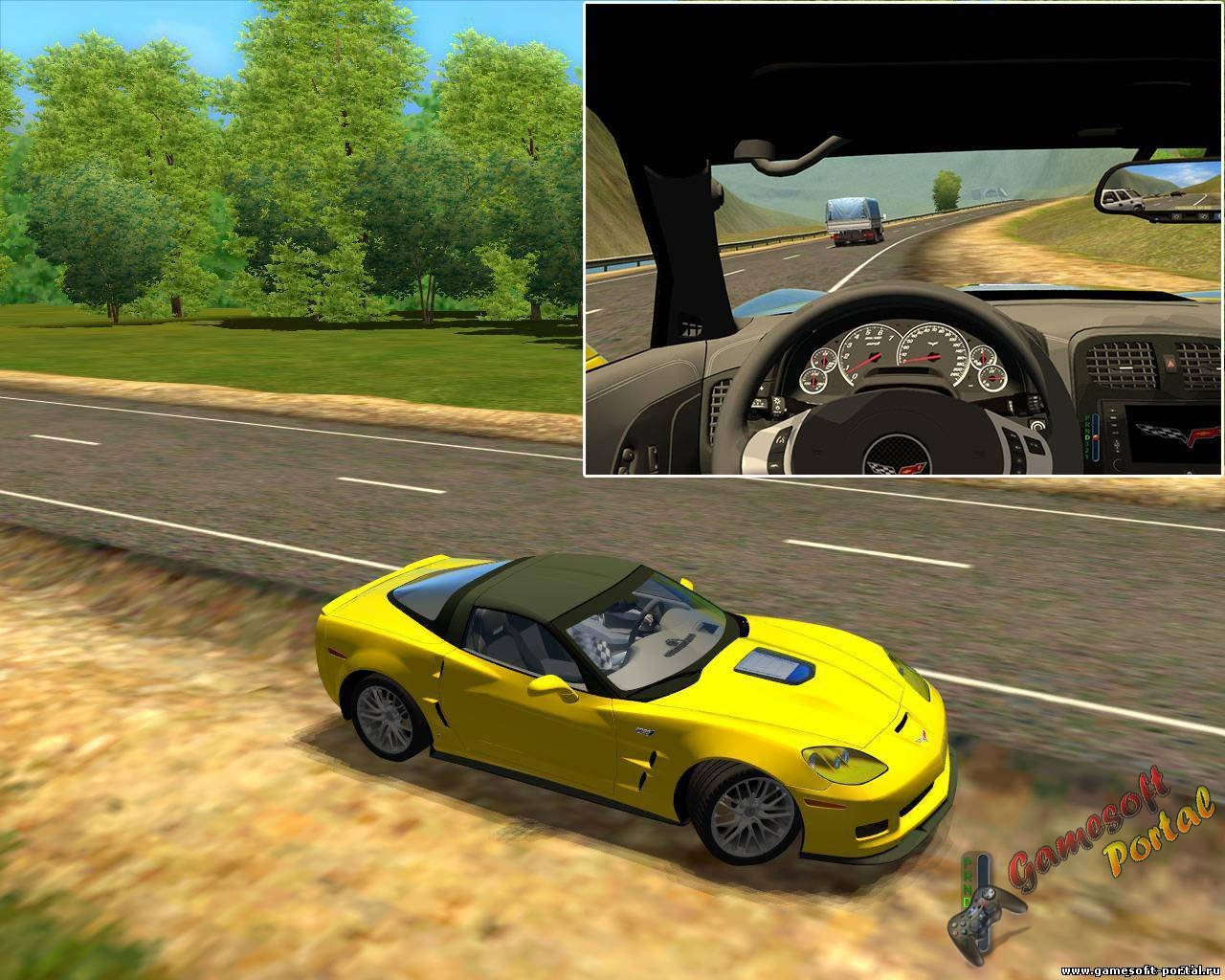 Chevrolet Corvette ZR1 для 3D Инструктор 2.2.7