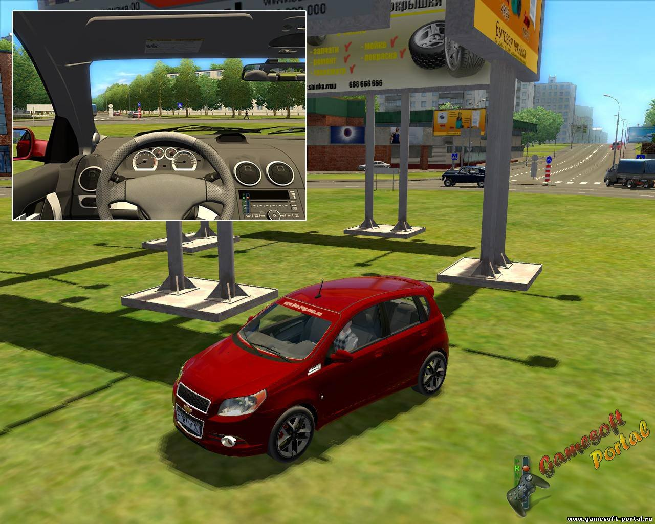 Chevrolet Aveo Hatchback для 3D Инструктор 2.2.7