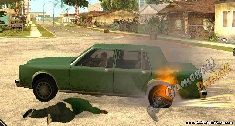 Feature Burnout Fix 1.2 для GTA San Andreas