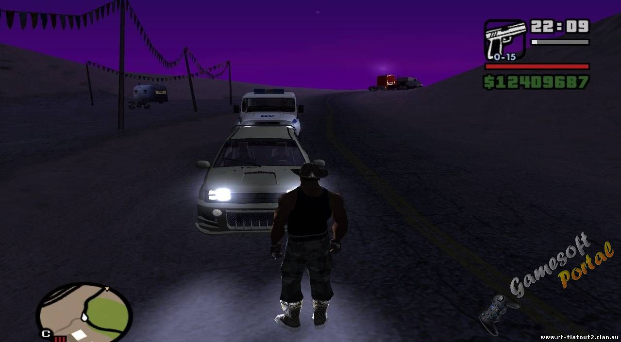High Quality Lights Mod v2.0 для GTA San Andreas